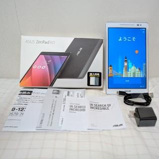 エイスース(ASUS)のASUS ZenPad 8.0 Z380M-WH16 ホワイト 16GB 難あり(タブレット)