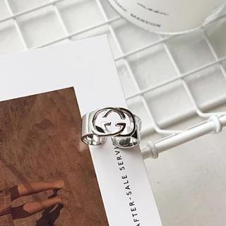 Gucci - 新品 GUCCI シルバー925 リング 指輪