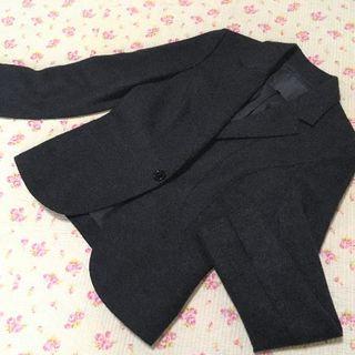 アンタイトル(UNTITLED)のアンタイトル ジャケット 0 暖かい アンゴラ混 秋冬(テーラードジャケット)