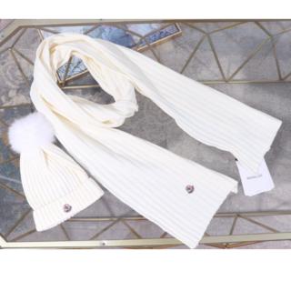 MONCLER - モンクレール ニット帽 マフラー セット