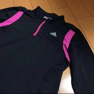 アディダス(adidas)のadidasCLIMALITEストレッチジップシャツ(Tシャツ(長袖/七分))
