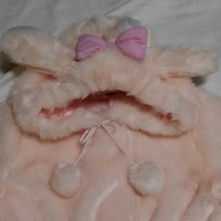 サンリオ(サンリオ)のマイメロ  ファージャケット(毛皮/ファーコート)