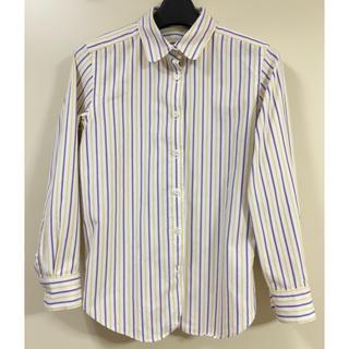 MACPHEE - 【MACPHEE】ストライプ柄長袖シャツ 38サイズ