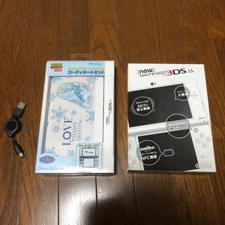 ニンテンドー3DS - Nintendo 3DS NEW ニンテンドー 本体 LL パールホワイト