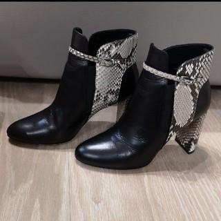 バーニーズニューヨーク(BARNEYS NEW YORK)のDEIMILLE ショート ブーツ 36  バーニーズ(ブーツ)