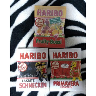 HARIBO メモ セット