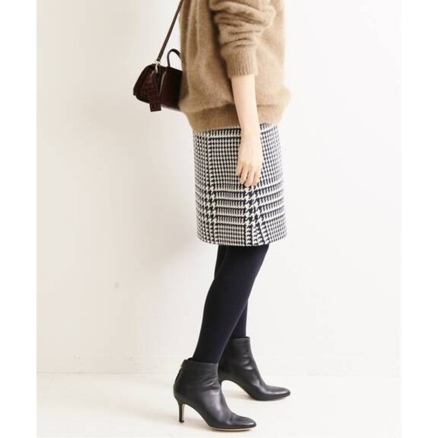 IENA(イエナ)のa.m.y.h..様専用❄️19AW新品ロービングチェック台形スカート34 レディースのスカート(ミニスカート)の商品写真
