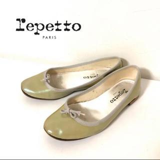 repetto - Repetto レペット ラメ エナメル フラットシューズ バレーシューズ 36