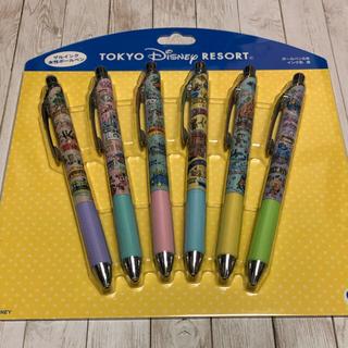 Disney - ディズニー  アトラクション柄  ボールペン  6本セット