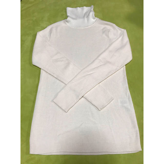 MUJI (無印良品) - 無印のタートルネックセーター