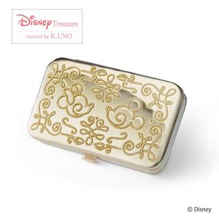 Disney - ケイウノオリジナルディズニーデザイン ミッキー&ミニー トラベルジュエリーケース