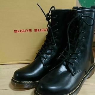 シュガーシュガー(Sugar Sugar)のSUGARSUGAR 新品 8ホールレースアップブーツ(ブーツ)