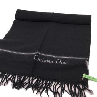 クリスチャンディオール(Christian Dior)のクリスチャンディオールWOOLマフラー(マフラー)