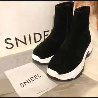 snidel - Snidel ジップスニーカー