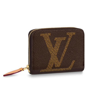 LOUIS VUITTON - 【国内直営店購入】ルイヴィトン ジッピー・コインパース  ブラウン 財布
