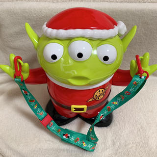 Disney - ポップコーンバケット クリスマス リトルグリーンメン