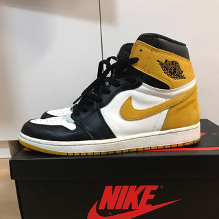 NIKE - NIKE air jordan1 yeerow ochre