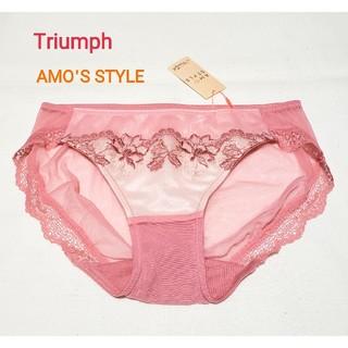 AMO'S STYLE - Triumph アモスタイル ヘナタトゥレギュラーショーツ ピンク M