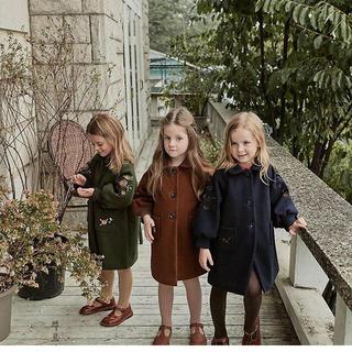 キャラメルベビー&チャイルド(Caramel baby&child )の韓国子供服 コート(コート)