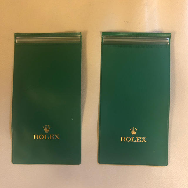 時計 ポイント ロレックス / ROLEX - ロレックス ビニール時計ケース 2個 ROLEX の通販 by Mr. Tom's shop