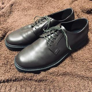 RAGEBLUE ブラウン 革靴 M