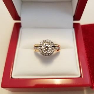 新品2wayダイヤモンドリング セットデザイン(リング(指輪))