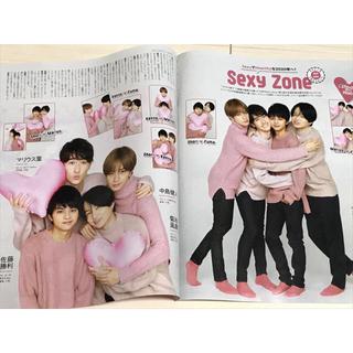 セクシー ゾーン(Sexy Zone)の【Blue様 専用】テレビ誌 最新号3誌おまとめ(12/11発売)切り抜き(その他)