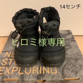 ザノースフェイス(THE NORTH FACE)の◯ヒロミ様専用◯THE NORTH FACE ノースフェイス ヌプシ 14センチ(ブーツ)