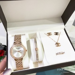 CHANEL - Chanel腕時計、ブレスレット、指輪。ネックレス