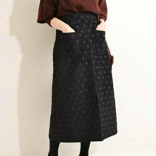 IENA - 新品タグ付イエナIENA LA BOUCLE モールジャガード Aラインスカート