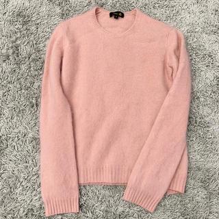 Drawer - 美品 drawer ドゥロワー  カシミヤファーニット セーター ピンク