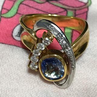 オーダー品✨✨金18&プラチナ  ダイヤ指輪(リング(指輪))