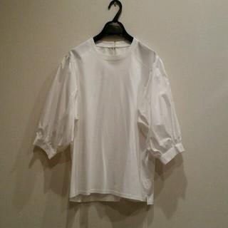 ガリャルダガランテ(GALLARDA GALANTE)のラウンジドレス ☆シャツコンビカットソー(シャツ/ブラウス(長袖/七分))