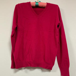ユニクロ(UNIQLO)のユニクロ Vネックセーター  Lサイズ(ニット/セーター)