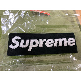 Supreme - supreme newera big logo headband ヘッドバンド