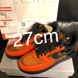 NIKE - 早い者勝ち! NIKE AIR FORCE 1 SBY Halloween
