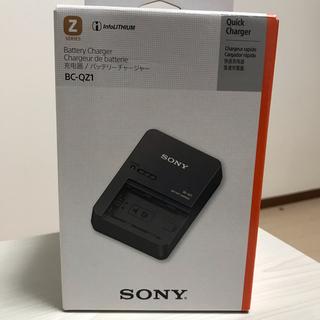 SONY - 使用回数極少!SONY 純正品 バッテリーチャージャー 充電器 BC-QZ1