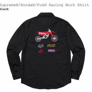 Supreme - Supreme×HONDA×FOX ワークシャツ S