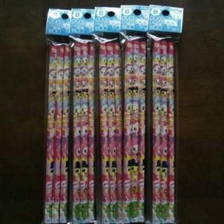 サンスター(SUNSTAR)のたまごっち かきかた えんぴつ 鉛筆 3本組 5セット B 定価180円 入学(鉛筆)