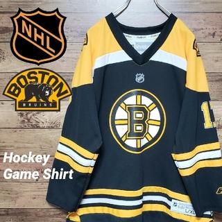 Reebok - NHL リーボック ホッケージャージ ゲームシャツ ボストン・ブルーインズ