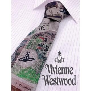 Vivienne Westwood - no.52 美品 ヴィヴィアンウエストウッド オーブ、総柄 高級ネクタイ 細見