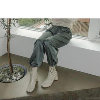オオトロ(OHOTORO)のOHOTOROタビブーツ24.5cm 新品未使用(ブーツ)