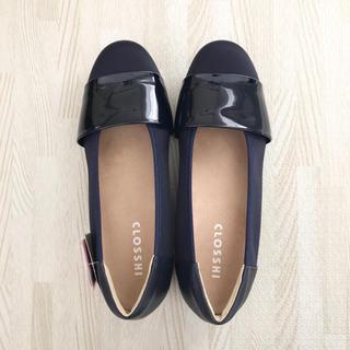 シマムラ(しまむら)の靴 パンプス エナメルバンドP 中紺  M(その他)
