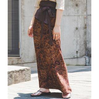 Kastane - ペイズリーIラインスカート