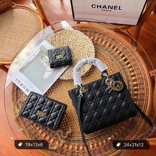 Dior - DIOR ハンドバッグ ショルダーバッグ 財布 3点セット