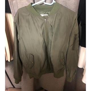 ハニーズ(HONEYS)のブルゾン MA-1ジャケット カーキジャケット(ブルゾン)