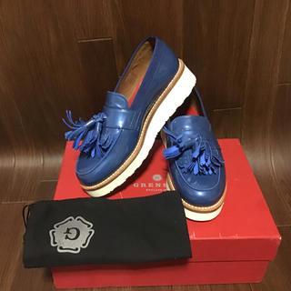 新品 グレンソン GRENSON  UK4.5D タッセルローファー 送料無料(ローファー/革靴)