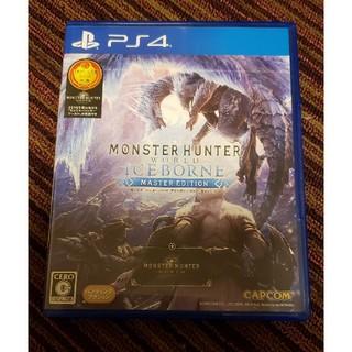 CAPCOM - モンスターハンターワールド:アイスボーン マスターエディション PS4