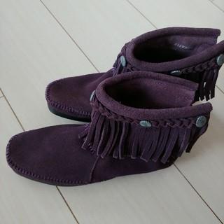 ミネトンカ(Minnetonka)のミネトンカ MINNETONKA ブーツ(ブーツ)