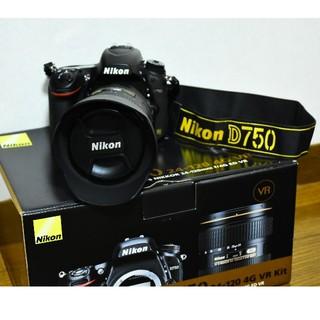 Nikon - Nikon ニコン d750 レンズキット 美品!